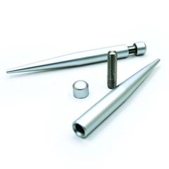 Supporti da tavolo in alluminio kit 2 pz